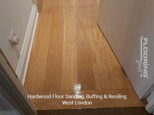 Floor sanding, buffing & reoiling in West London 2
