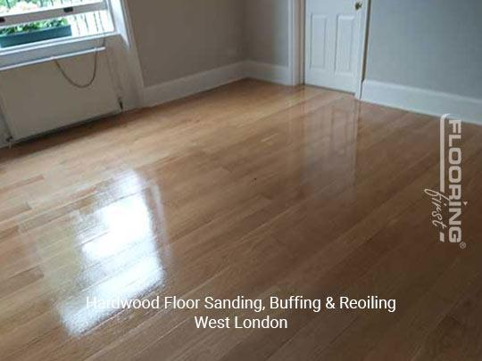 Floor sanding, buffing & reoiling in West London 3