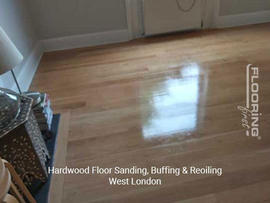 Floor sanding, buffing & reoiling in West London 4