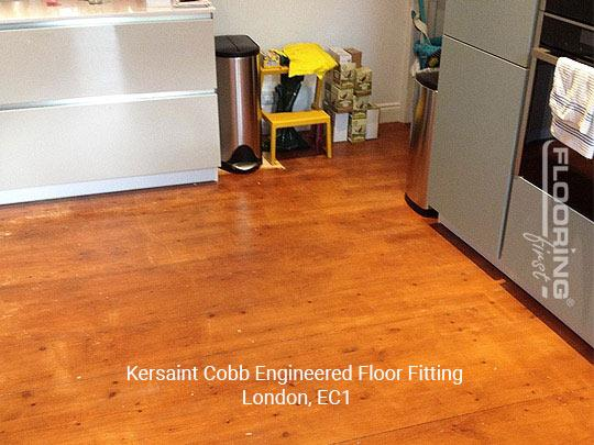 Kersaint Cobb engineered floor fitting in Central London