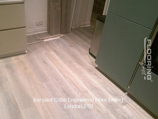 Kersaint Cobb engineered floor fitting in Central London 1