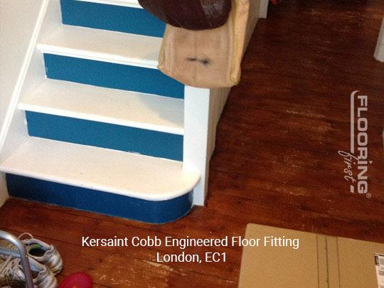 Kersaint Cobb engineered floor fitting in Central London 2