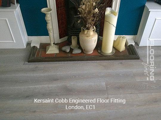 Kersaint Cobb engineered floor fitting in Central London 4