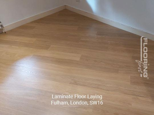 Laminate floor fitting in Fulham 6