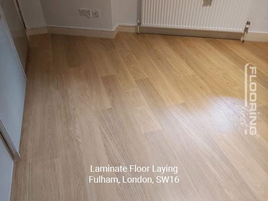 Laminate floor fitting in Fulham 7