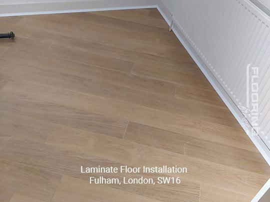Laminate floor installation in Fulham 2
