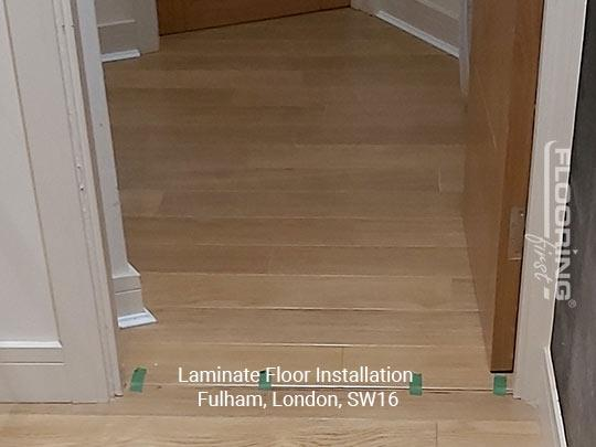 Laminate floor installation in Fulham 3