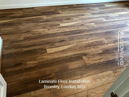Laying laminate flooring in Bromley