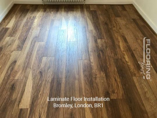 Laying laminate flooring in Bromley 1