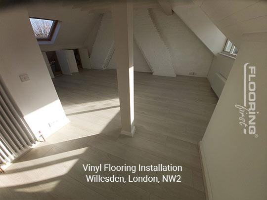Vinyl flooring installation in Willesden 8