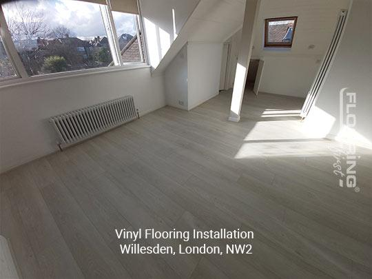 Vinyl flooring installation in Willesden 9