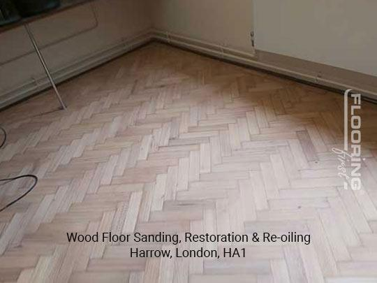 Wood floor sanding, restoration & re-oiling in Harrow