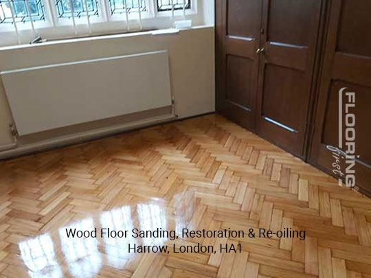 Wood floor sanding, restoration & re-oiling in Harrow 6