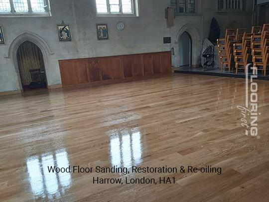 Wood floor sanding, restoration & re-oiling in Harrow 7