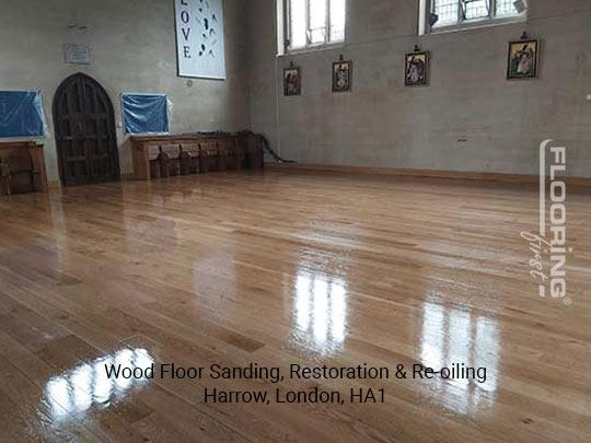 Wood floor sanding, restoration & re-oiling in Harrow 8
