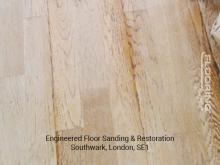 Engineered floor sanding & restoration in Southwark