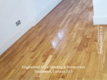 Engineered floor sanding & restoration in Southwark 3