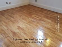 Engineered floor sanding & restoration in Southwark 4