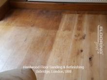 Hardwood floor sanding and refinishing in Uxbridge