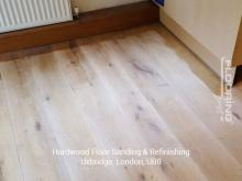 Hardwood floor sanding and refinishing in Uxbridge 1