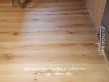 Hardwood floor sanding and refinishing in Uxbridge 2