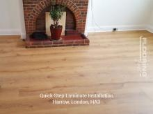 QuickStep laminate installation in Harrow 2