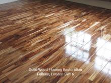 Solid wood flooring restoration in Fulham 3