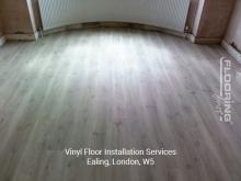 Vinyl floor installation services in Ealing