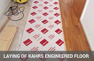 installation process of kahrs