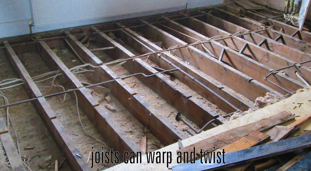 visible joists
