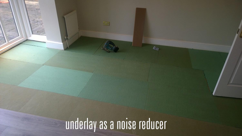 Underlay For Noisy Floors