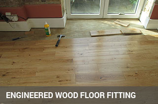 Engineered floor fitting service