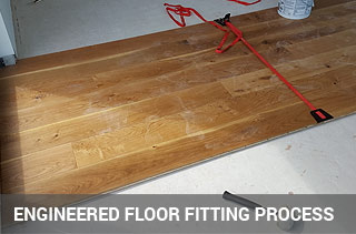fitting engineered wood floor