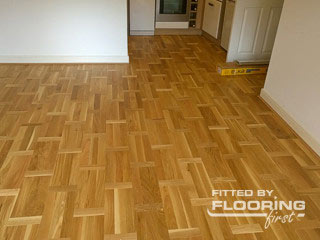 Parquet pattern done expertly by FlooringFirst!