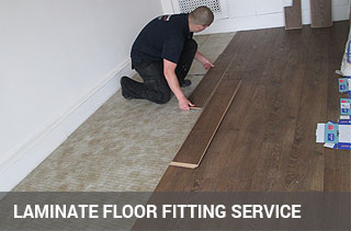 Laminate floor fitting service