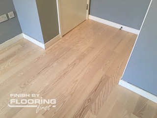 Floor refinishing project in Notting Hill