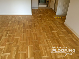 Floor laying project in Colindale, Kinsbury