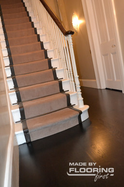 Floor refinishing project in Wimbledon