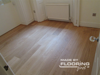 Floor refinishing project in Winchmore Hill