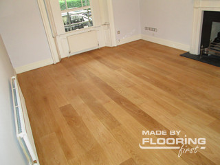 Floor refinishing project in St Marys Cray