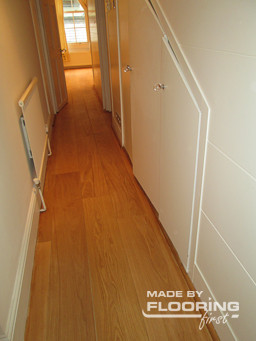 Floor refinishing project in Amersham