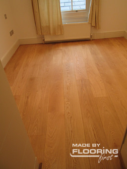 Floor fitting project in Watford