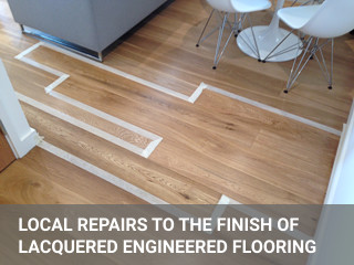 Floor fitting project in Monument
