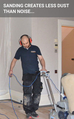 floor sanding as a service can be a noisy experience