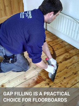 Wood Floor Gap Filling Service For Floorboards And Parquet