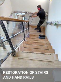 Oak Stairs Renovation