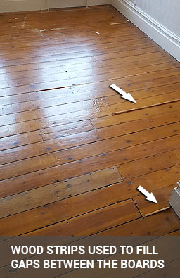 ... Of Your Wooden Floor But Also Improve Its Appearance. In The End,  Gap Filling Is Not Just A Cosmetic Procedure But A Welcome And Practical  Solution.
