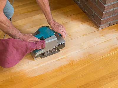The risks of over-sanding your wooden floors