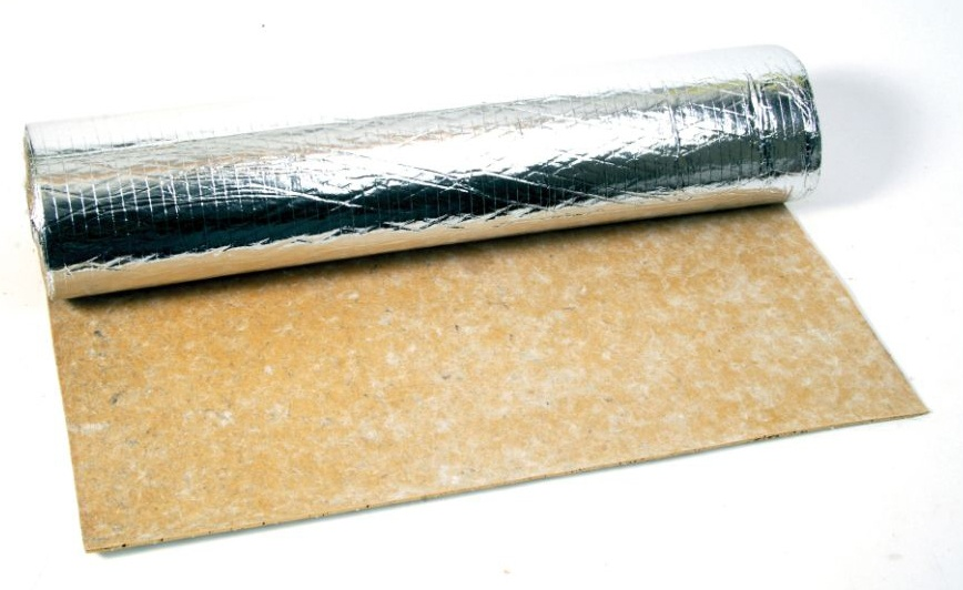 gold underlay used for wood flooring