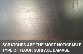 repair & remove scratches from wooden floors london